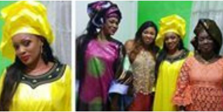 (03 photos) En tenue traditionnelle, Diewo Sow alias Touli donne des nouvelles!