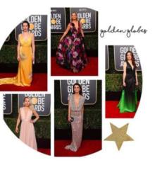 Golden Globes 2019 : les plus beaux décolletés vus sur le tapis rouge