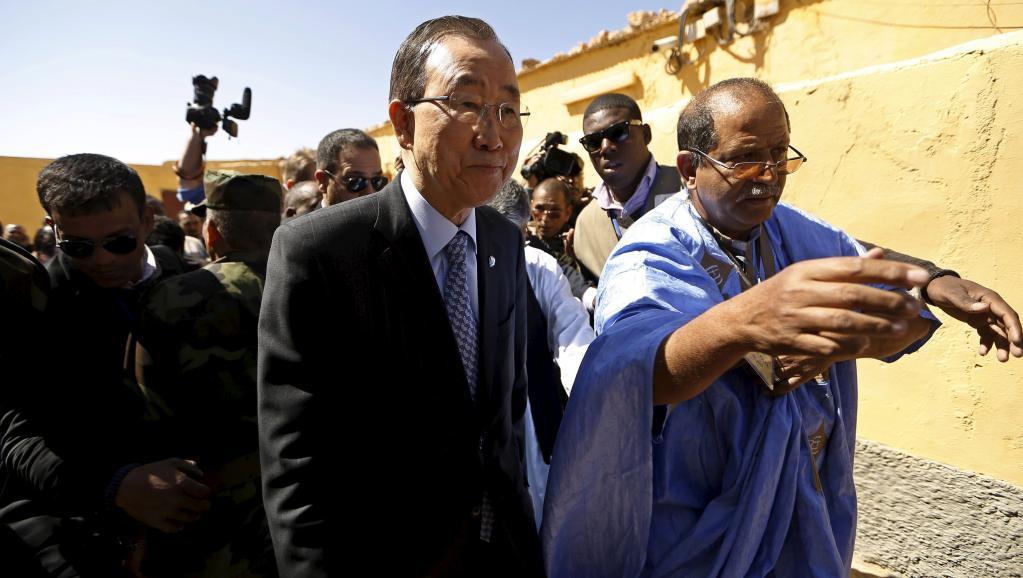Ban Ki-moon veut le rétablissement des activités de l'ONU au Sahara occidental