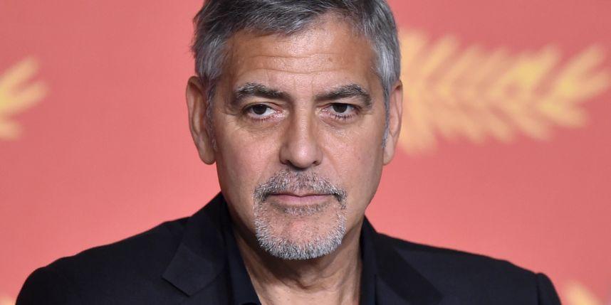 """George Clooney : """"L'Amérique ne sera pas dirigée par la peur des musulmans, des immigrés et des femmes"""""""