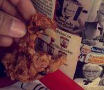 Poussin frit entier au KFC