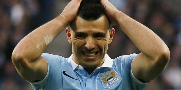 Suspendu trois matches : Aguero manquera le derby de Manchester