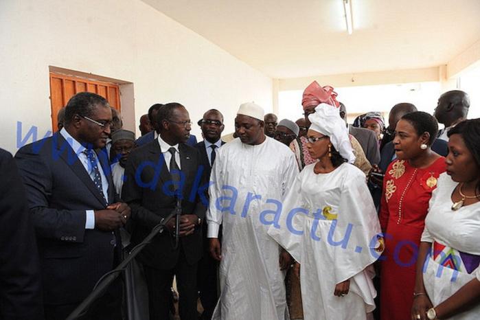 VISITE DE BARROW AU CHANTIER GETRAN : Deux appartements grand standing d'une valeur de 120 millions chacun offerts au président Gambien