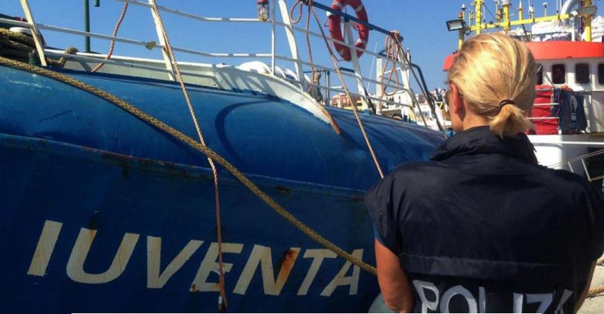 Italie: des migrants testés positifs au coronavirus après leur sauvetage