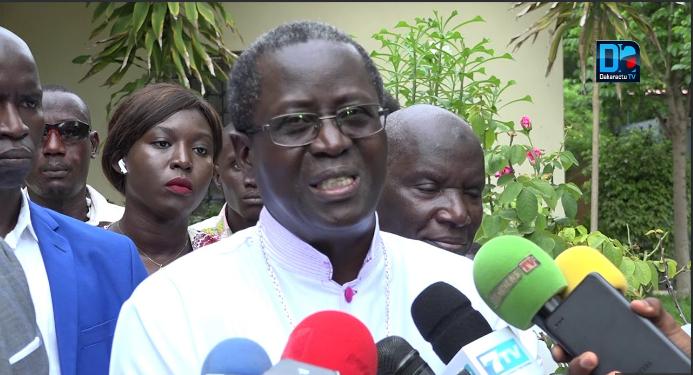 Monseigneur Benjamin Ndiaye «préoccupé par la qualité d'un débat politique qui dépasse les arguties et les controverses»