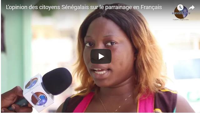 L'opinion des citoyens Sénégalais sur le parrainage en Français