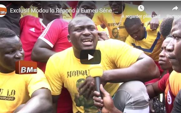 Modou lo Répond à Eumeu Séne « Waxoumako Dara, Lou Niaw, Dafa Beug Yeureumtoulou, Dey Wax Pour Diaxasser »