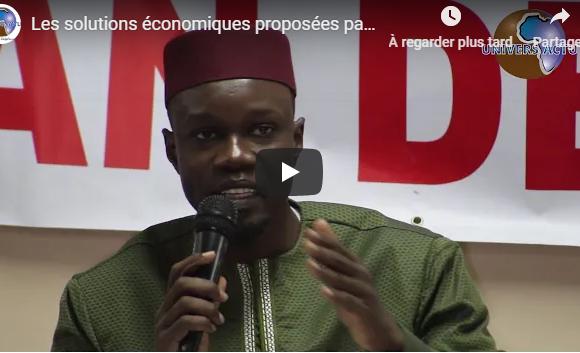 Les solutions proposées par Ousmane SONKO au Collectif Auchan Dégage