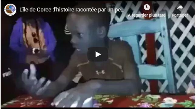 L'île de Goree :l'histoire racontée par un petit enfant !!!