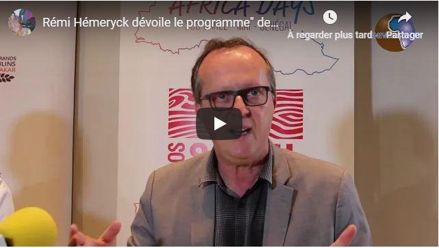M.Rémi Hémeryck dévoile le programme» des Africa Days «de SOS Sahel .