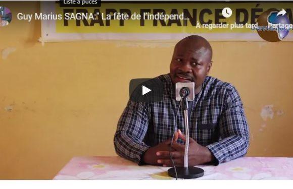 Guy Marius SAGNA:» La fête de l'indépendance au Sénégal n'est qu'un poisson d'Avril»