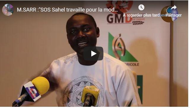 (Vidéo)El Hadj Sidy SARR :»SOS Sahel travaille pour la modernisation et la sécurisation des exploitations familiales»