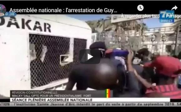 Assemblée nationale : l'arrestation de Guy Marius ,Abdourahmane SOW ,et Babacar DIOP
