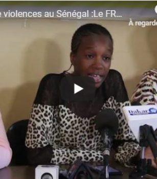 L'épidémie de violences au Sénégal :Le FRAPP s'engage dans la lutte