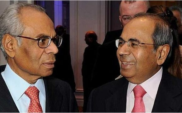 Deux frères d'origine indienne se partagent la plus grosse fortune du Royaume-Uni