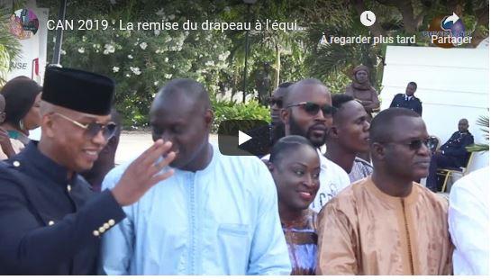 (Vidéo) Revivez la cérémonie de la remise du drapeau à l'équipe nationale du Sénégal par le Président Macky Sall