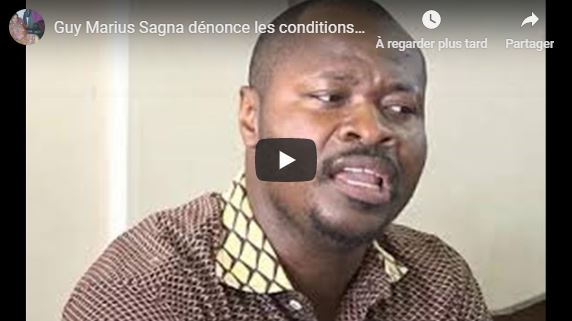 Guy Marius Sagna dénonce les conditions de détention à Reubeuss