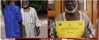 ÉDUCATION : L'histoire de Diomaye Sène, le plus vieux étudiant du Sénégal