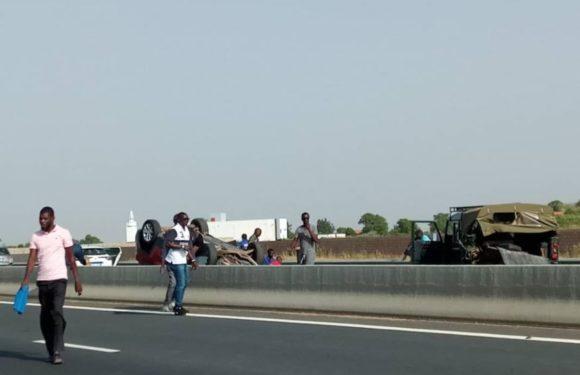 Urgent : un grave accident sur l'autoroute à péage