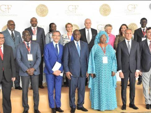 La remise du Prix Galien Afrique, à Dakar en 2020