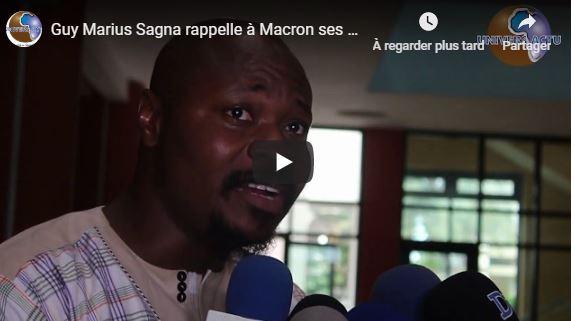 Guy Marius Sagna rappelle à Macron ses vrais priorités