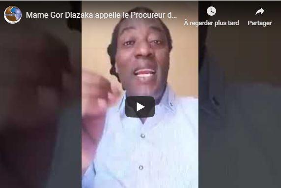 Mame Gor Diazaka appelle le Procureur de la République à sanctionner sévèrement Guy Marius Sagna