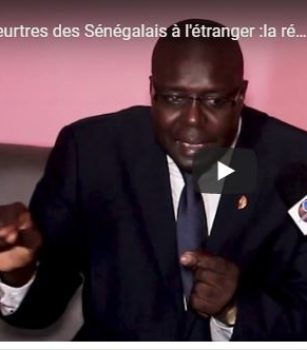 Meurtres des Sénégalais à l'étranger :la réaction de M.Seye le président d'Horizon sans Frontières