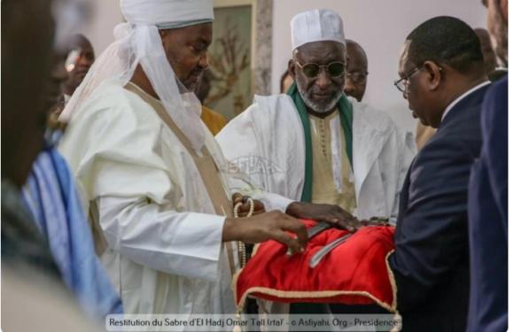 RELIGION: après le sabre la famille omarienne réclame d'autres de leur héritage