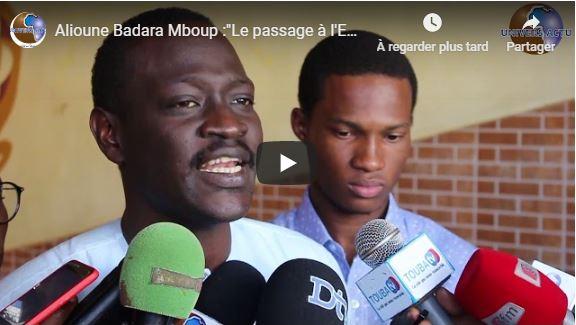 Alioune Badara Mboup :»Le passage à l'ECO doit être accompagné des réformes budgétaires»