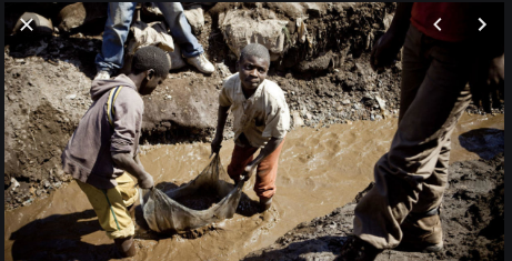 RDC: l'exploitation des enfants dans les mines de Cobalt, Google, Apple, Microsoft et Dell poursuivis en justice