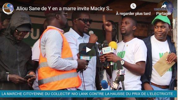 Aliou Sane de Y en a marre invite Macky Sall à libérer les otages