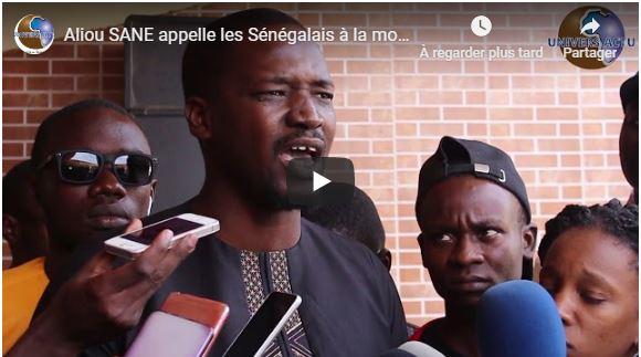 Aliou SANE appelle les Sénégalais à la mobilisation pour la libération de Guy Marius Sagna et Cie