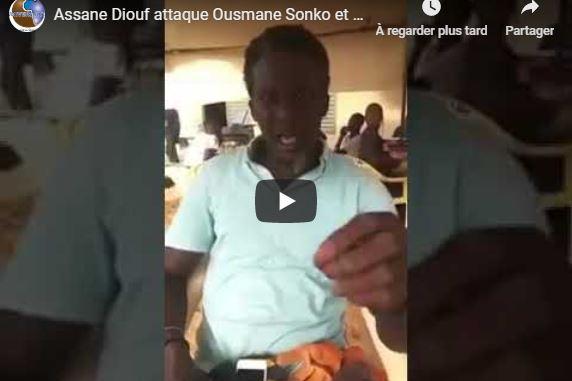 Assane Diouf attaque Ousmane Sonko et prend la défense de Tahirou Sarr