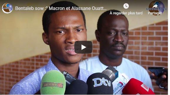Bentaleb sow :» Macron et Alassane Ouattara ont organisé à hold up de la monnaie unique»