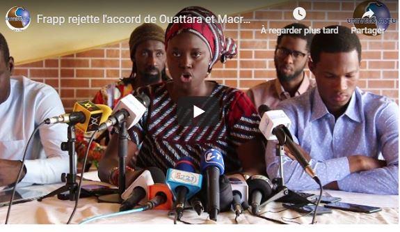 Frapp rejette l'accord de Ouattara et Macron sur le passage du FCFA à l'ECO