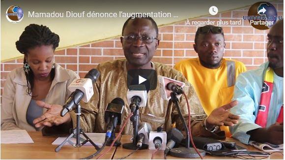 Mamadou Diouf dénonce l'augmentation du prix de l'électricité et prédit d'autres surprises