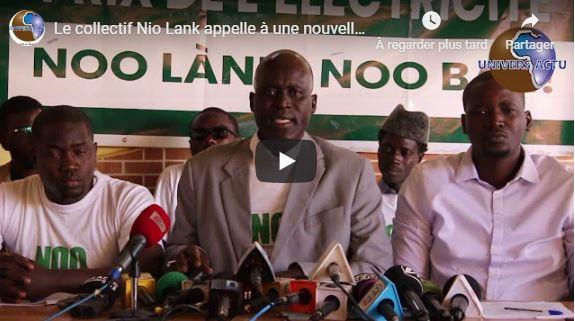 Le collectif Nio Lank appelle à une nouvelle manifestation vendredi prochain