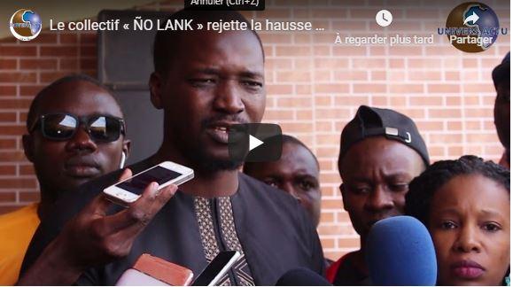 Le collectif « ÑO LANK » rejette la hausse du prix de l'électricité et se mobilise