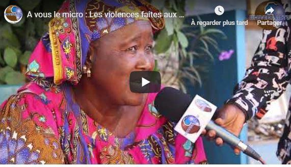 A vous le micro : Thème : Les violences faites aux femmes