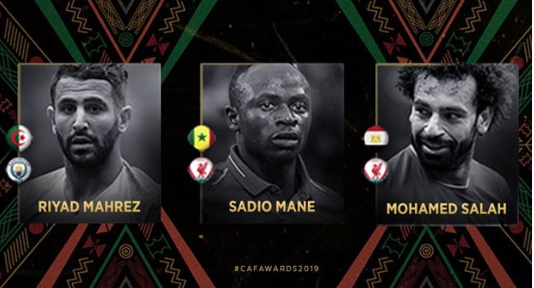 Ballon d'or Africain : Le geste de Salah et Mahrez qui prouve que Mané sera sacré