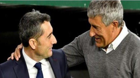 Espagne: le Barça limoge Ernesto Valverde et engage « Quique » Setien jusqu'en 2022