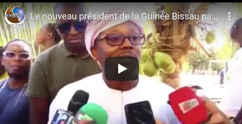 Le nouveau président de la Guinée Bissau parle de sa relation avec Macky Sall