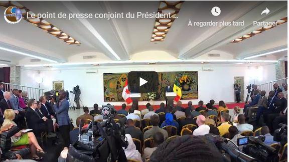 Le point de presse conjoint du Président Macky Sall et le premier ministre Canadien Justin TRUDEAU