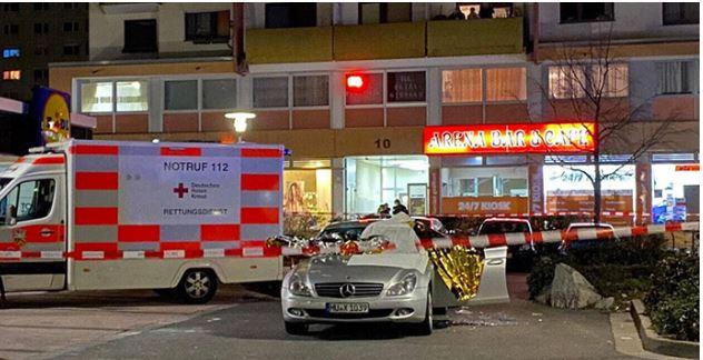 Allemagne: 9 morts dans deux fusillades, un suspect retrouvé mort