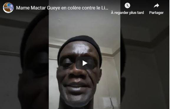 Mame Mactar Gueye en colère contre le Lieutenant Dioum dans l'affaire de la disparition de sa fille