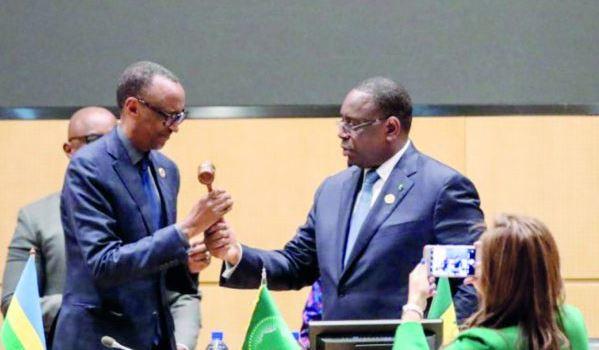 Paul Kagam remplace Macky Sall à la tête du Nepad