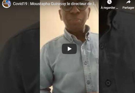 Covid19 : Moustapha Guirassy le directeur de IAM testé positif , rassure et remercie les autorités