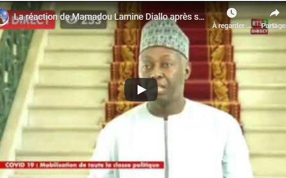 La réaction de Mamadou Lamine Diallo après son entretien avec le PR Macky Sall