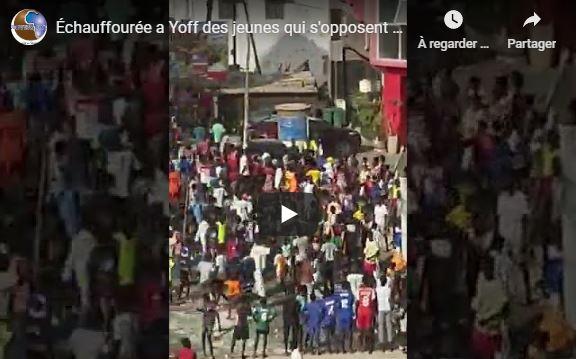 Échauffourée a Yoff des jeunes qui s'opposent à l'arrestation d'un Imam