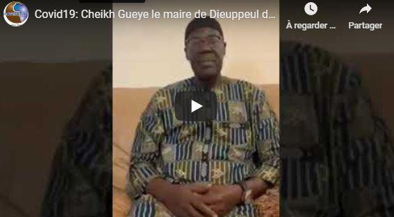 Covid19: Cheikh Gueye le maire de Dieuppeul décaisse 120 millions et renonce à 6 mois de salaires